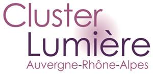 Logo adherent CLUSTER LUMIERE