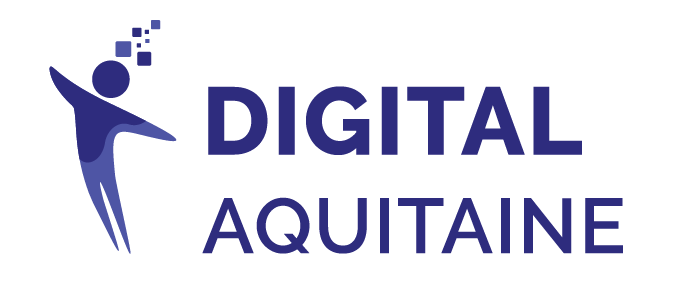Logo adherent DIGITAL AQUITAINE